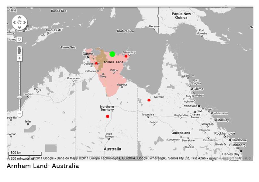 Australia -print